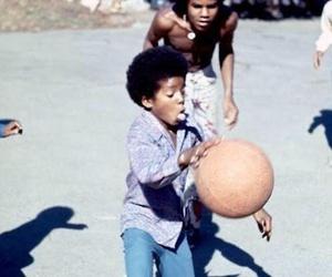 michael jackson and Basketball image