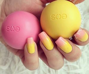 nails, eos, and nail art image
