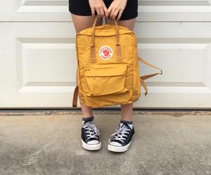 aesthetic, fjallraven kanken, and backpack image