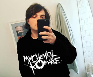 edit, gerard way, and my chemical romance image