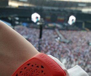 alternative, coldplay, and concert image