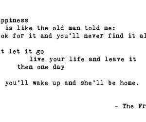 lyric, song, and thefray image