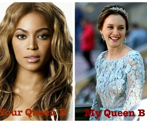 blair waldorf and queen b image
