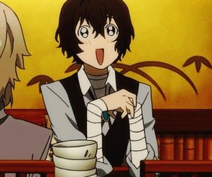 bungou stray dogs, dazai, and anime image