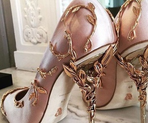 pink, shoes, and beautiful shoes image