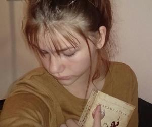 beautiful, women, and books image