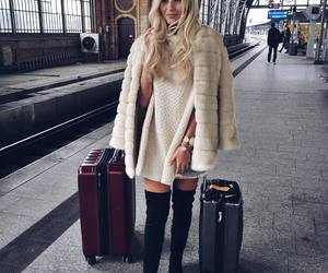 beautiful, make up, and outfit image