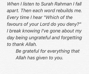 allah, beautiful, and quran image