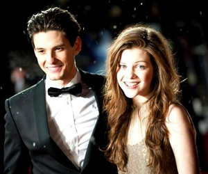 ben barnes, georgie henley, and narnia image
