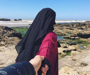 niqab, halal, and hlel image