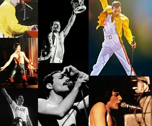Freddie Mercury, Queen, and rock image