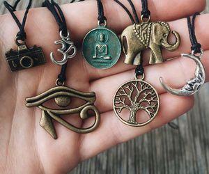 boho, jewelry, and hippie image
