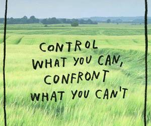 quotes, control, and confront image