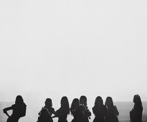 black, girlsgeneration, and snsd image