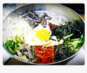 delicious, south korea, and vegetarian image