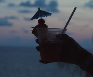 beach, drink, and mango image