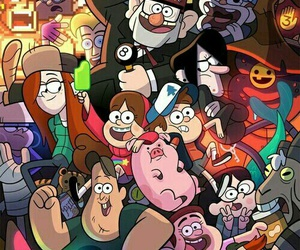 gravity falls, disney, and wallpaper image