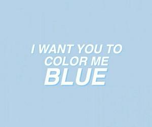 aesthetic, blue, and troye sivan image