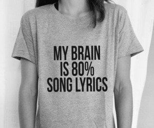 song, Lyrics, and black and white image