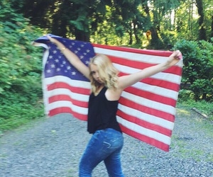 america, american, and flag image