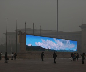 sky, china, and grunge image