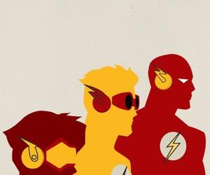 flash, impulse, and wally west image