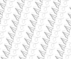 Paper, pattern, and plane image