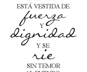 frases, fuerza, and girls image