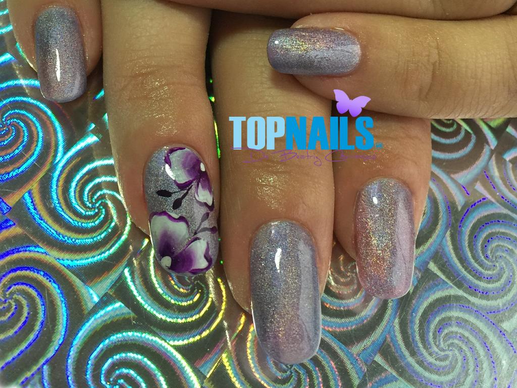 nails, nailart, and nails art image