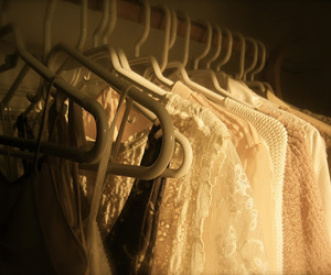 closet, clothes, and fabric image