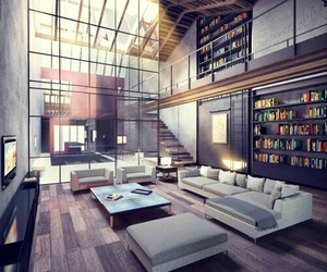 home, house, and design image