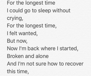 alone, broken, and poetry image