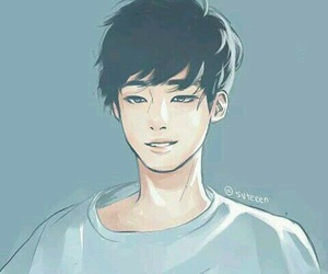 fanart, kpop, and anime image