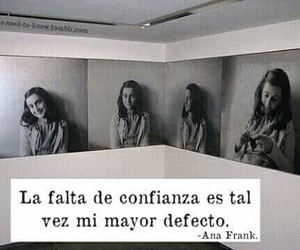 ana frank, frases, and confidence image