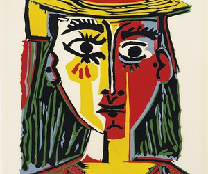 art, colorful, and Pablo Picasso image