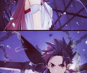 sword art online, asuna, and anime image