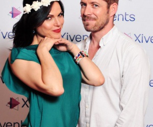 sean maguire, lana parrilla, and outlaw queen image