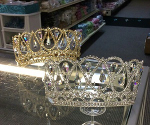 crown, gold, and silver image