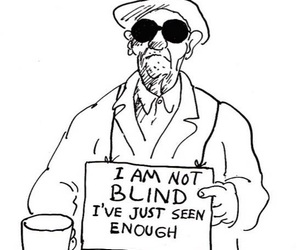 blind, enough, and man image