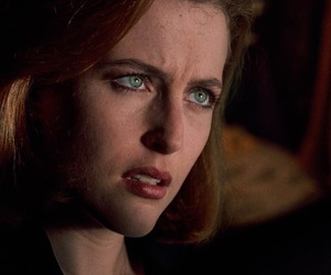dana scully, gillian anderson, and the x files image
