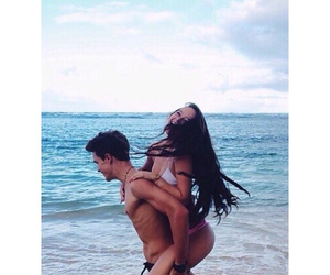couple, goals, and ocean image
