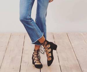 fashion, heels, and models image