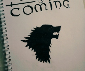 drawing, stark, and tv show image