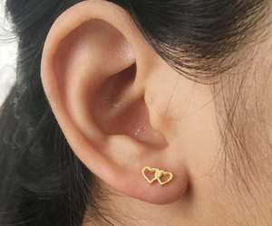 piercing, etsy, and cartilage earrings image