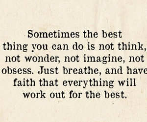 Best, faith, and Just breath image