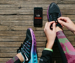 nike, gym, and shoes image