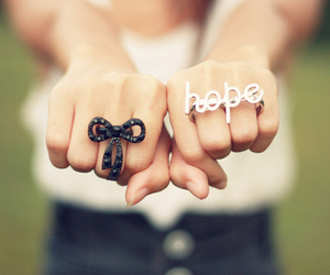hope, rings, and ring image