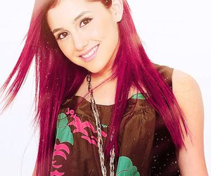 red hair, ariana grande, and victorious image