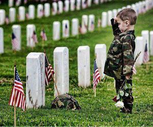 army, grave, and soldier image