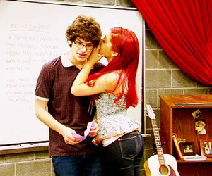 red hair, victorious, and ariana grande image